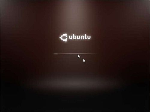 Ubuntu 9.10 Splash..