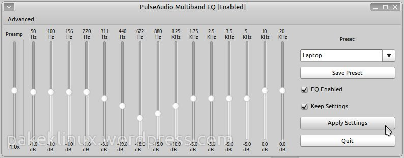 Better sound experience with PulseAudio Equalizer in Ubuntu