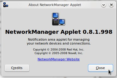 Network Manager Applet