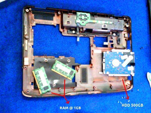 Body Bawah Acer 4530
